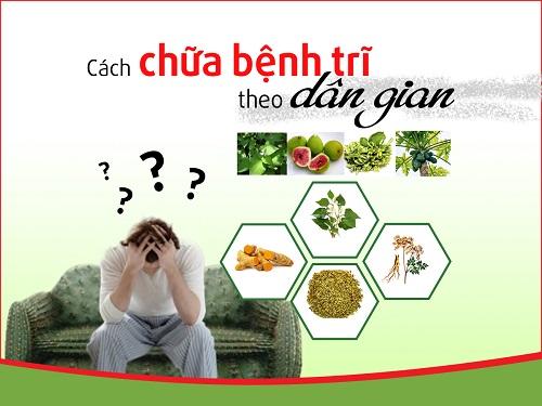 cach chua benh tri bang phuong phap dan gian